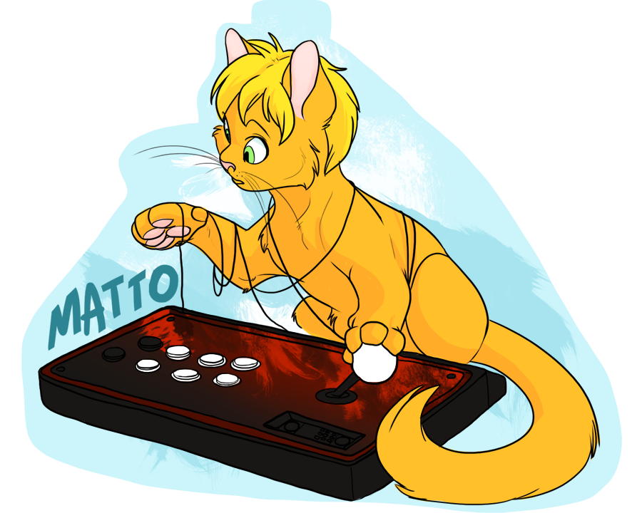 Button Mashing Badge by Chibbums
