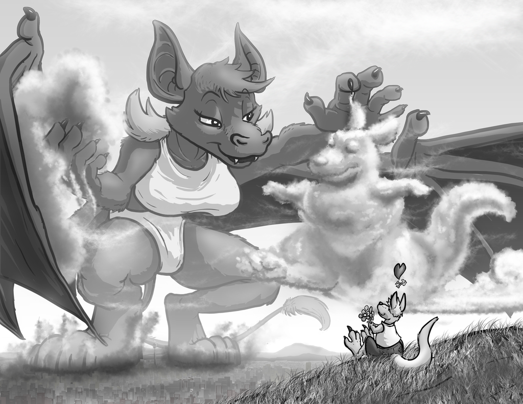 Sculpting a cloudroo - by Tyrnn