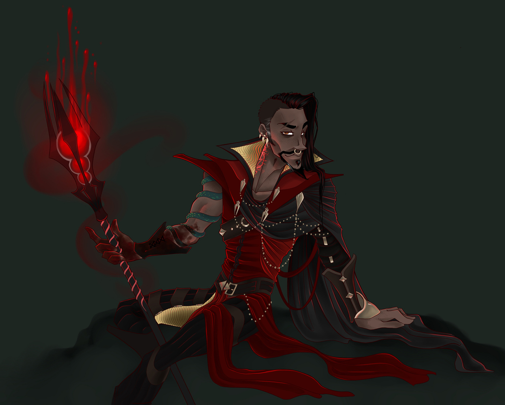 Most recent image: The Blood Mage