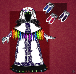 Melieka Cloak Design