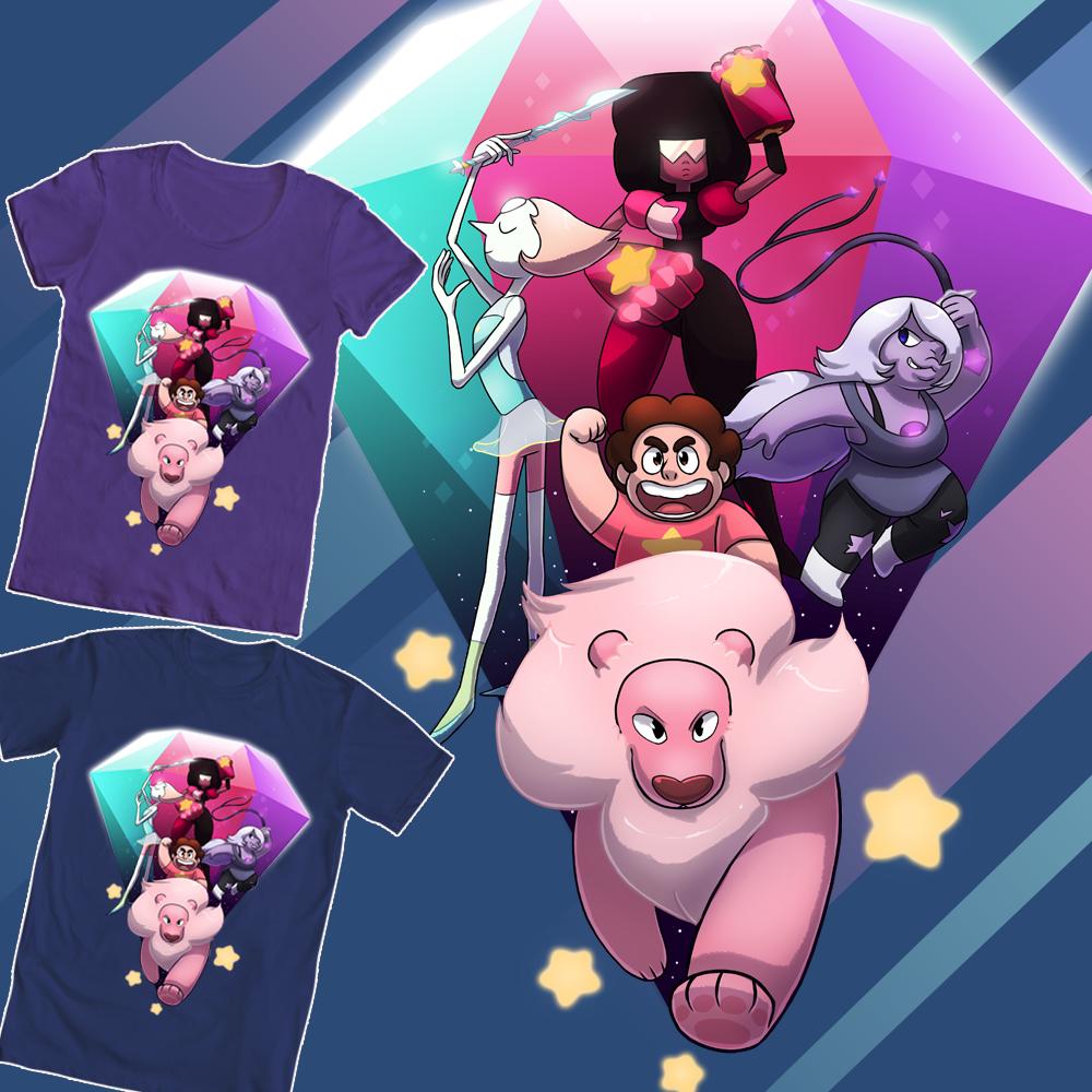 Shirt design rates - Root Older Steven Universe Shirt Design 1 Please Rate Me