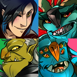 Troll Hunters Icons (COMMISSION)