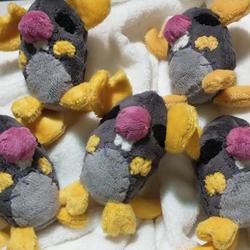 Mini-Mort plushes (for sale!)