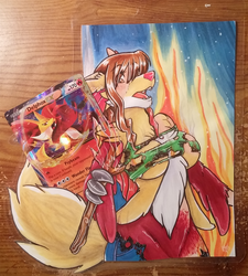 Pokemon Card TF - Delphox