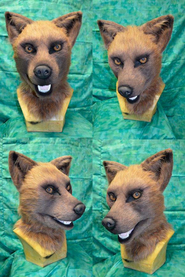 Wolfsbane - Rhane Sinclair head - cosplay
