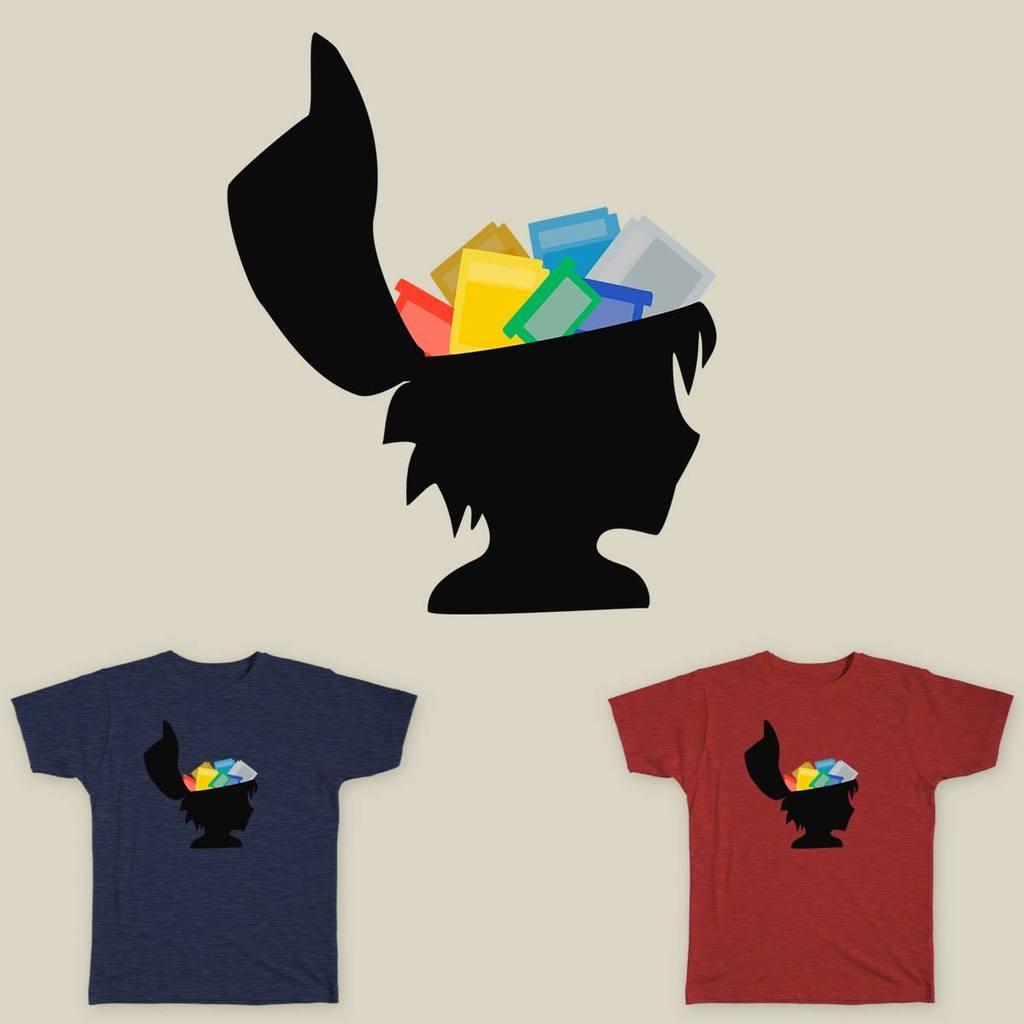 Old School Gamer Shirt Design
