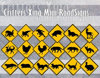 Mini Roadsigns OPEN FOR ORDERS!