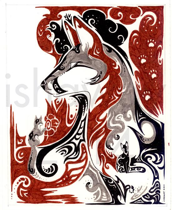 Dreaming: Gray Fox