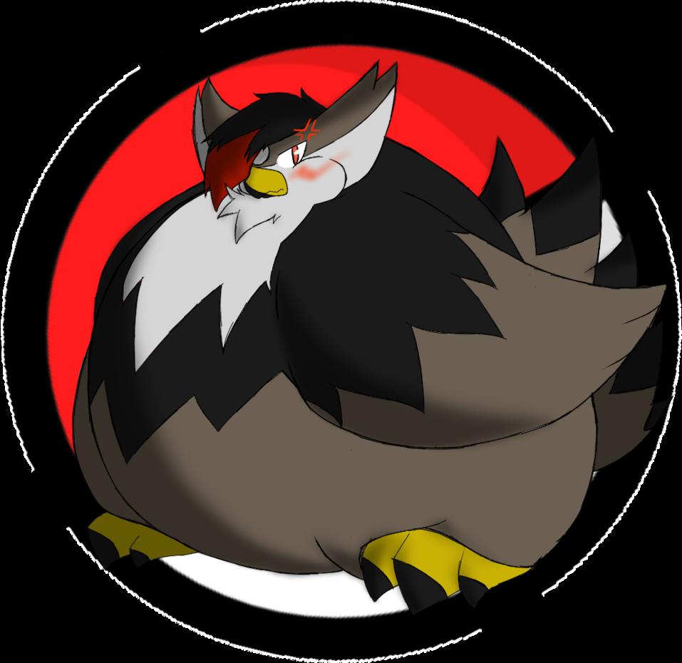 Fat Staraptor is Unpleased