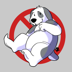 Busted Ghost Barnaby by Kiwi-Heart