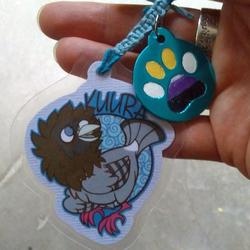 Kuura Mini Badge