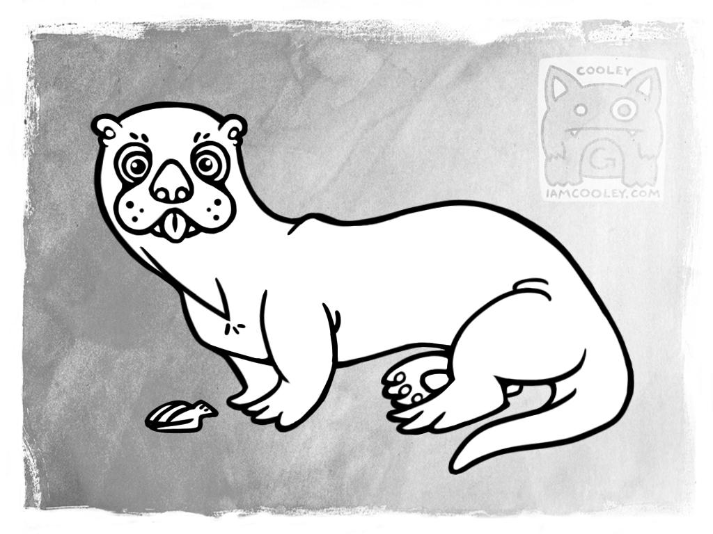 Oli the Sea Otter is Back!
