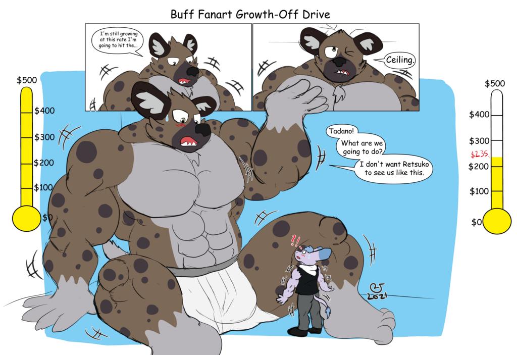 Buff Fanart Growth-Off Drive: Haida Vs Tadano 5H