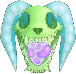 Skullyena Monster