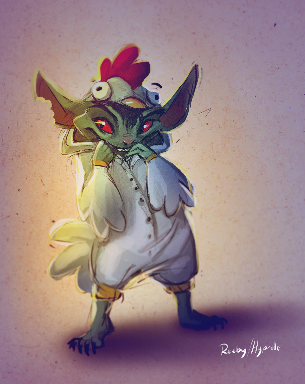 Most recent image: The most terrifying chicken