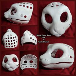 Kemono Custom Bunny 1 3D Head Base