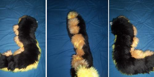 Black Dragon Tail Commission