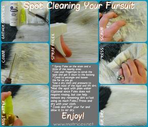 Spot Cleaning Your Fursuit