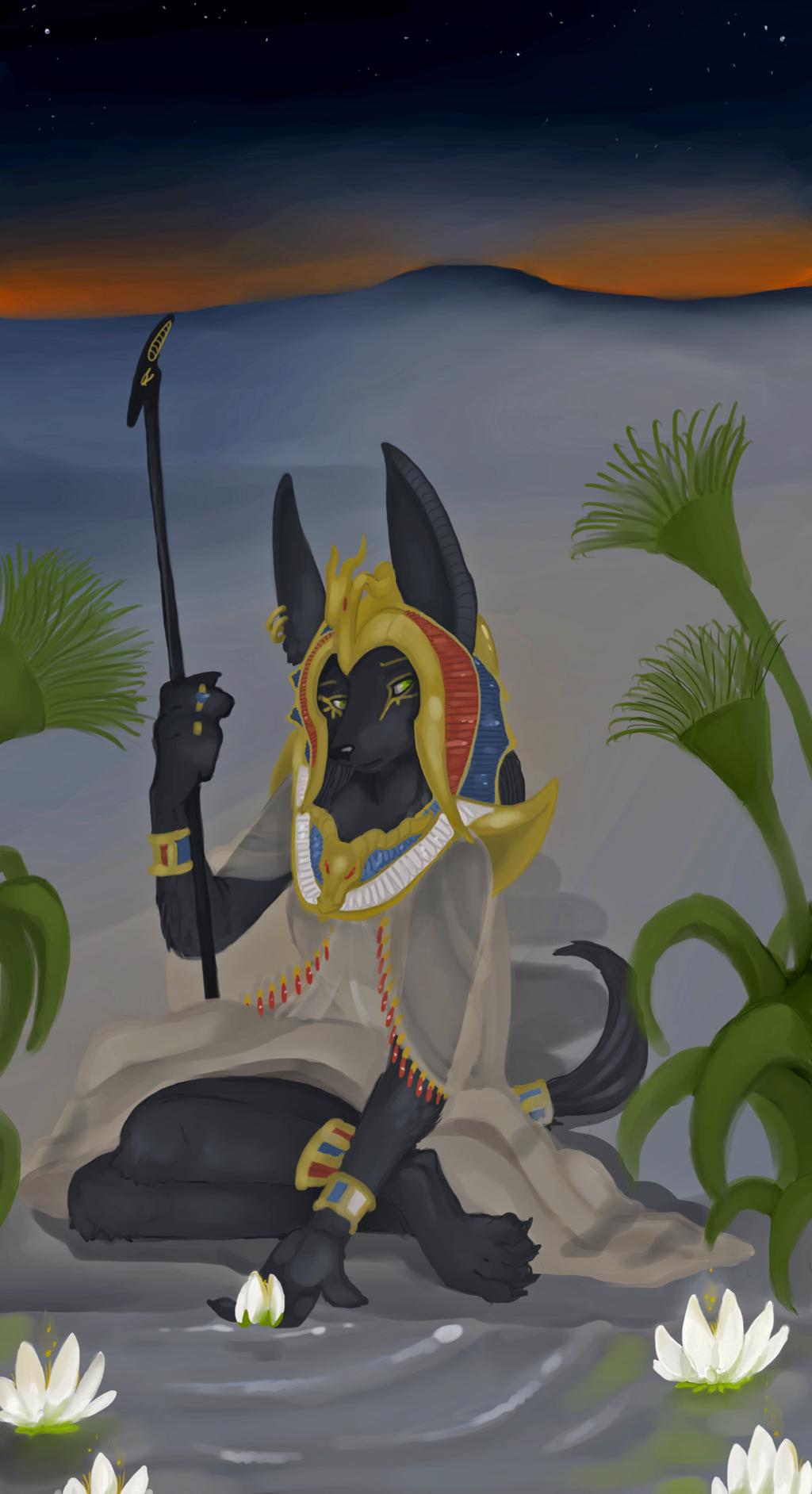 The Goddess of Lotus