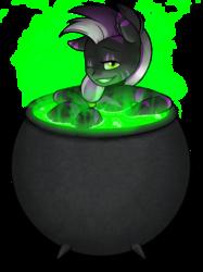 YCH: Cuppie- Vexin In A Cauldron