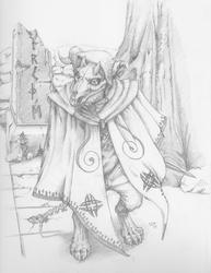 Druidic Creature: Runes Beast