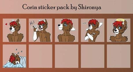 Corin telegram sticker pack