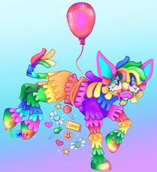 Rainbowzpinata Fullbody
