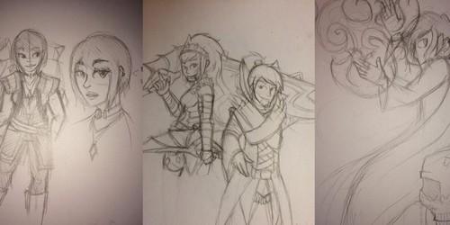 summer 2014 sketches