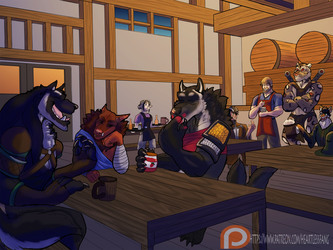 Tavern after the mission