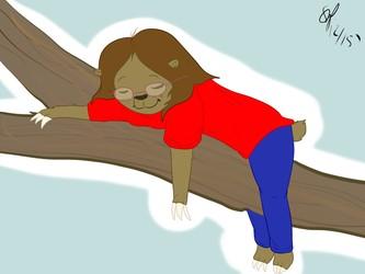 Sleeping Sloth (December 2015)