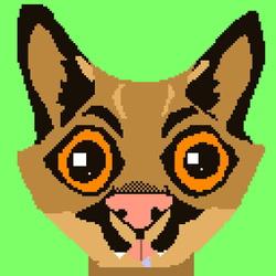 Pixel Art : Rubycat