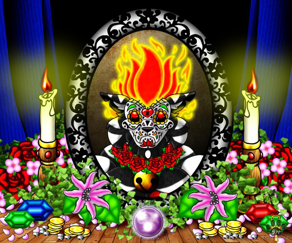 Dia de los Muertos Crypty