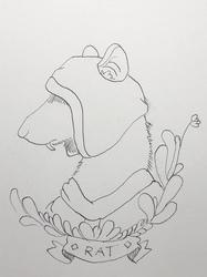 Medieval Rat (Inktober 11)