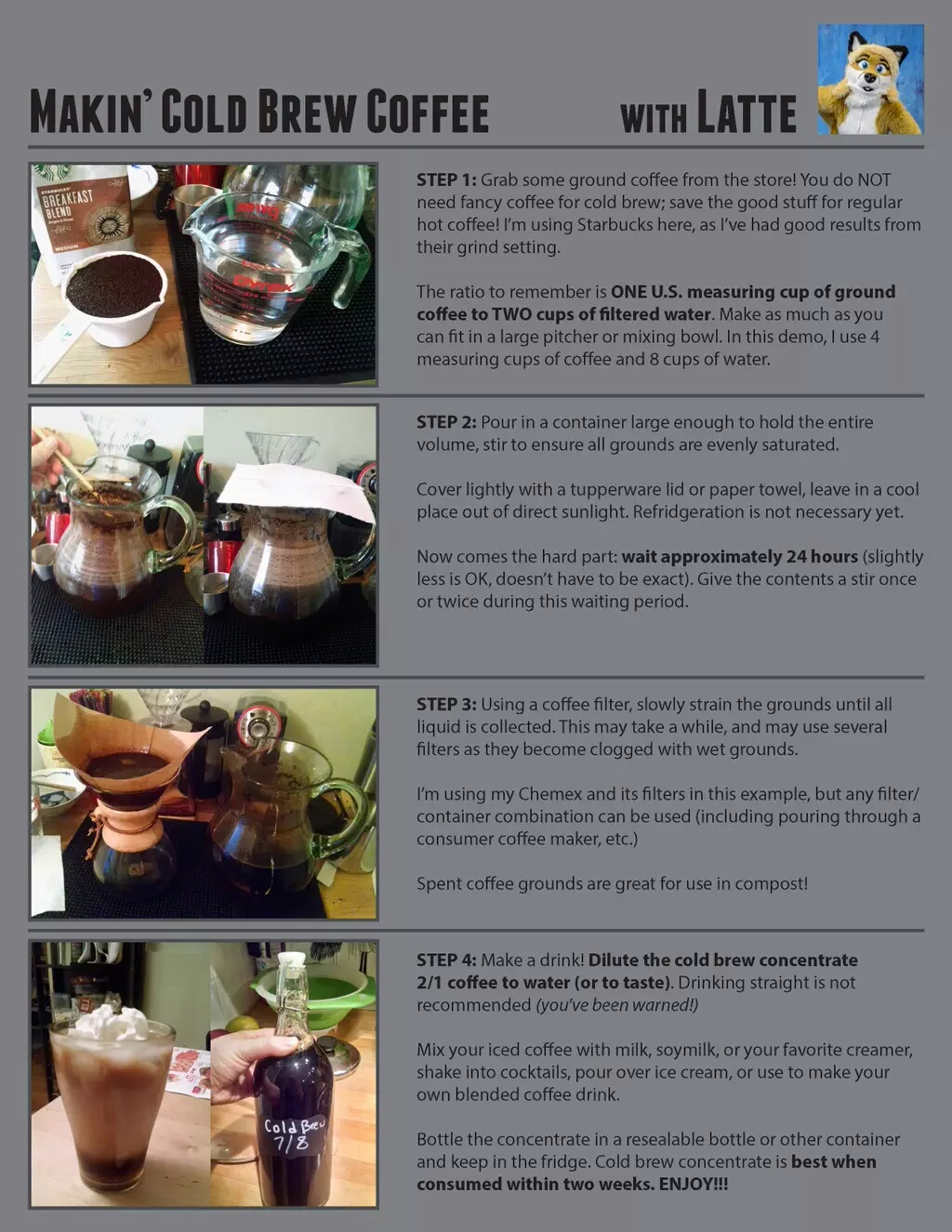 Cold Brew How-To!