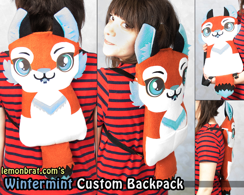Wintermint Custom Backpack