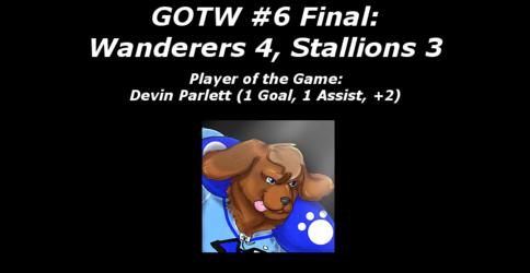 FHL Season 7 GOTW #6: Wanderers 4, Stallions 3