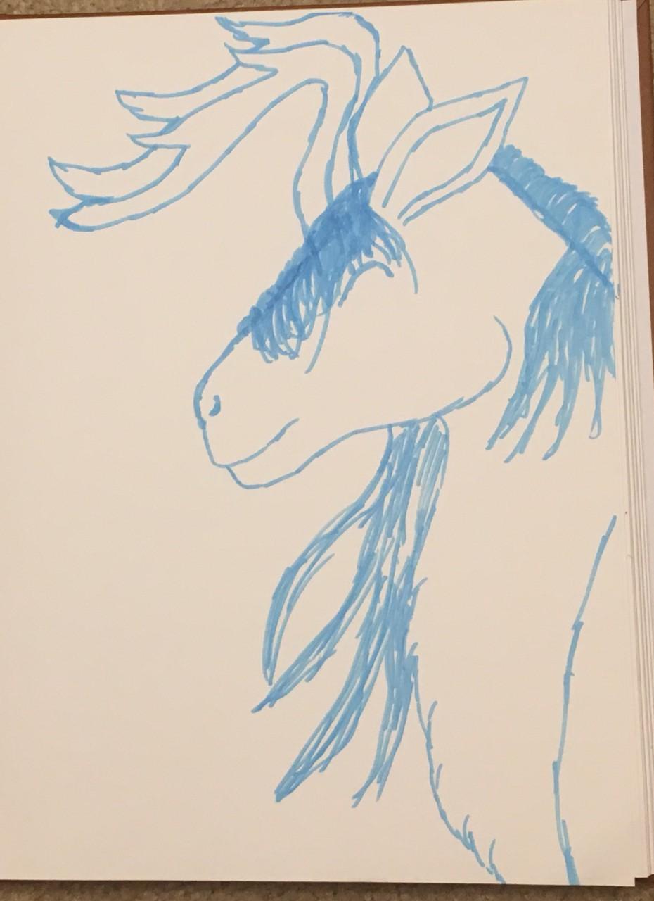 [My Art] Sharpie Doodle for Dracontiar