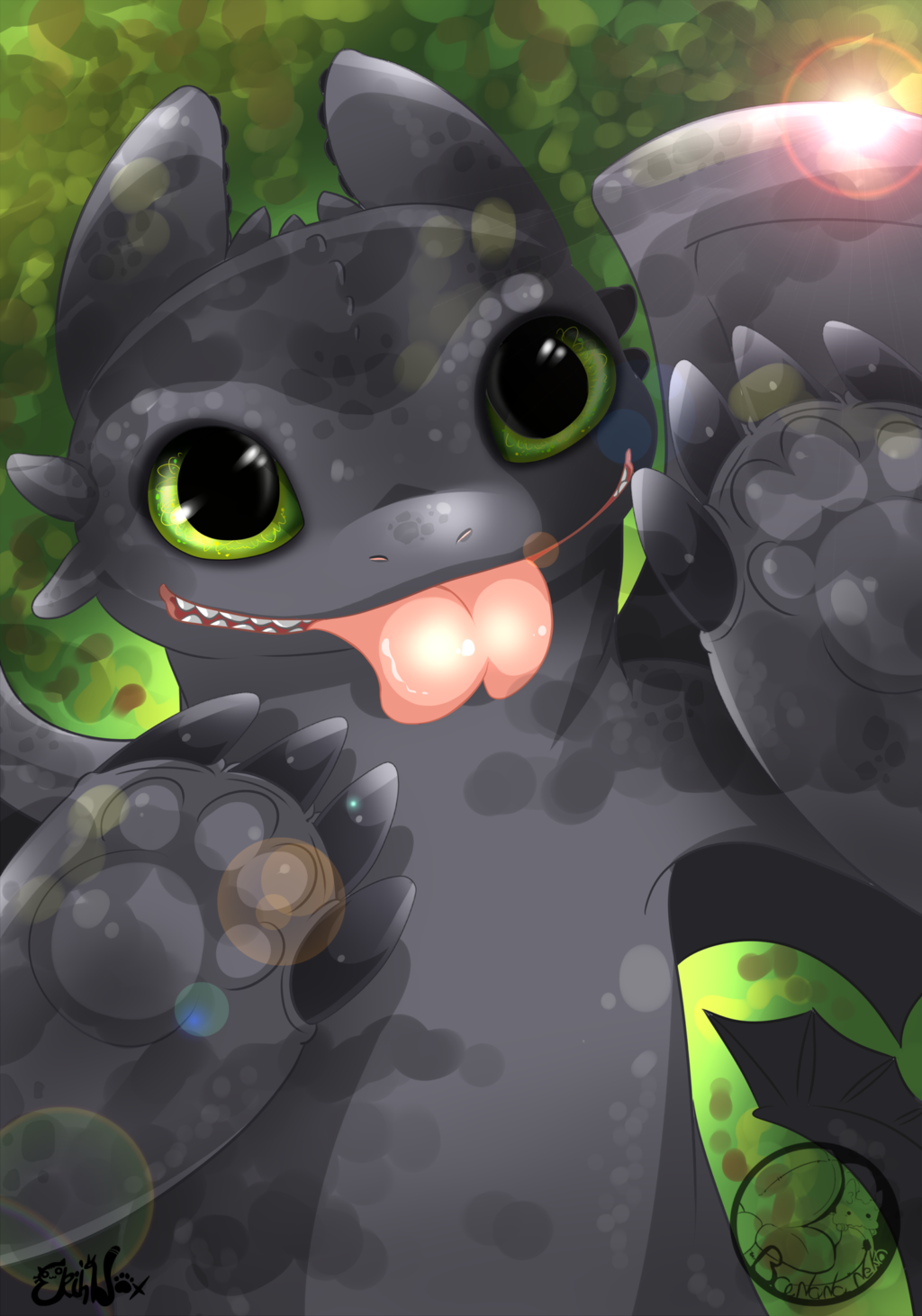 Toothless :D