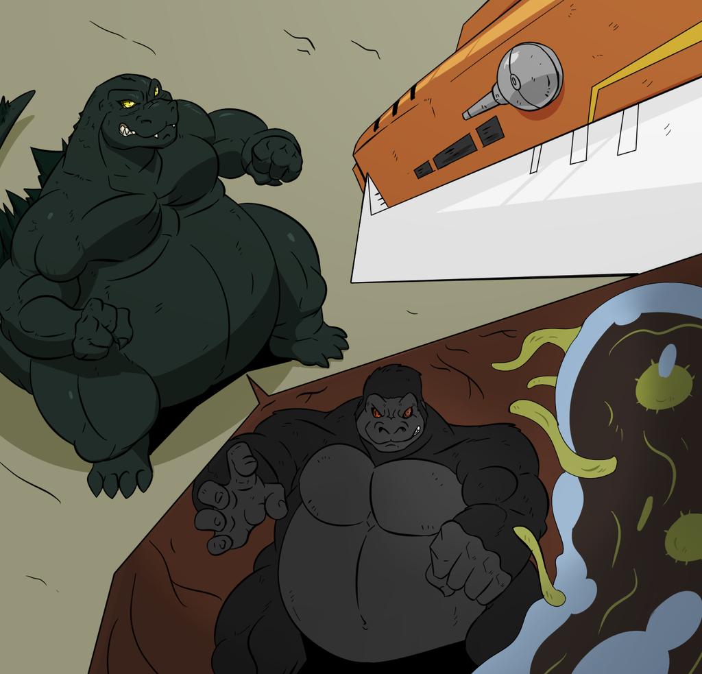 Godzilla and King Kong - Battles Within