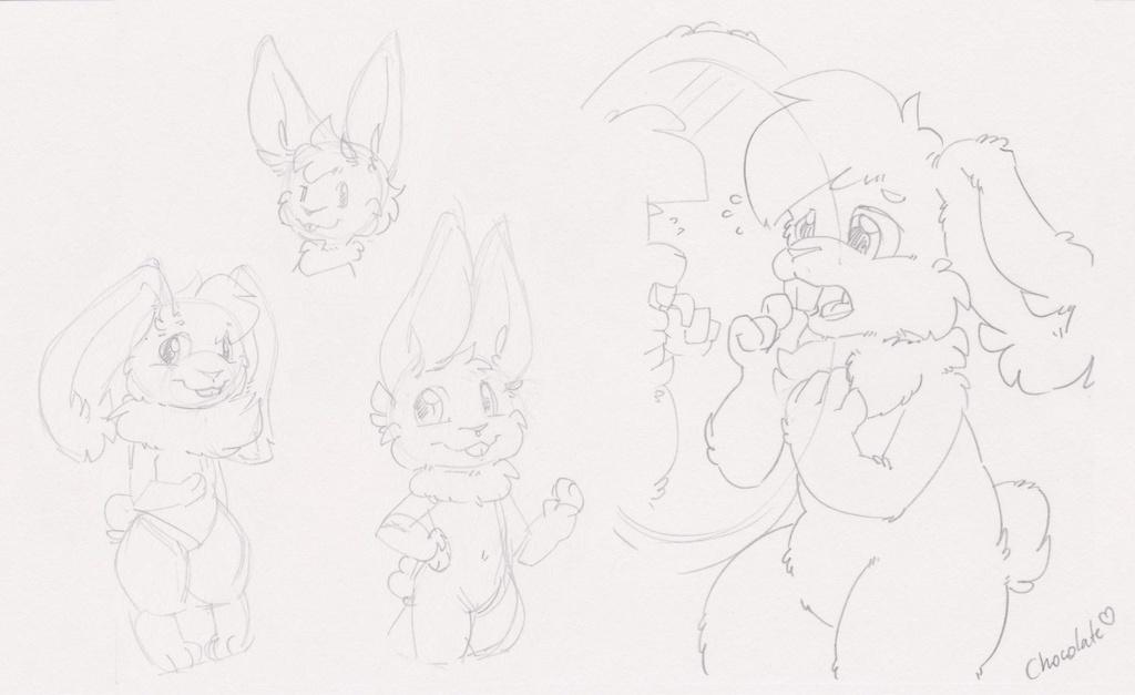 [C] Rael Bunny Sketchpage
