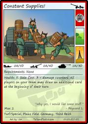 Tails and Tactics: Preview of: Constant Supplies!