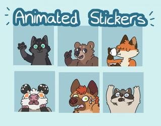 Animated Telegram Stickers (click link)