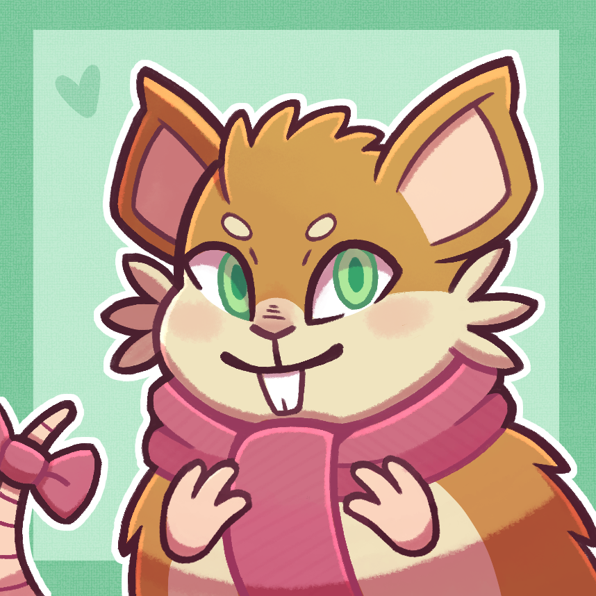 Raticate icon commission