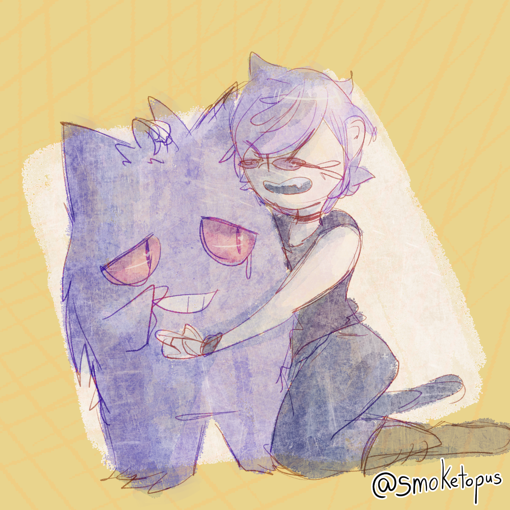 Most recent image: Sketch Saturday - Crying Over Gengar