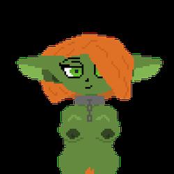 Sarah the Goblin nude