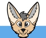 Solace the Fennec Fox Ref Sheet