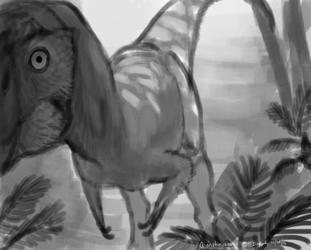 Dinovember - 27 - Qianzhousaurus