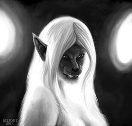 Draw a Werewolf Day - Wyfwolf