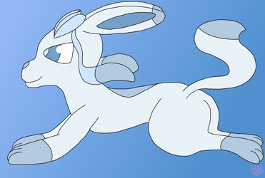 [Day 21] Ice-Type Pokemon (Glaceon)