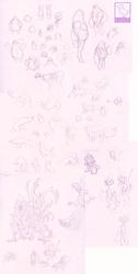 some other various sketchdump idek
